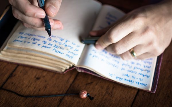 Writing,Notes,In,Personal,Journal